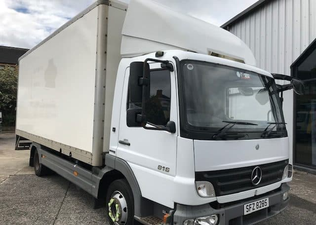 Mercedes Atego 816 Box Tail Lift 2009