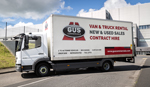 7.5 tonne truck available for hire from Gus Commercials