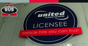Gus Commercials' Unite Rental System Licensee Wall Plaque
