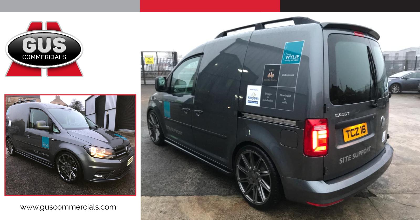 Drew Wylie Building Services VW Caddy van