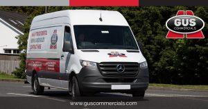 New Mercedes-Benz Sprinter Van for Gus Commercials' Rental Fleet